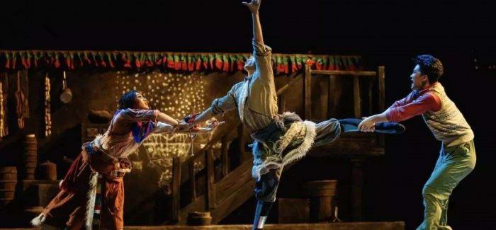 国家大剧院原创民族舞剧《天路》走进清华校园