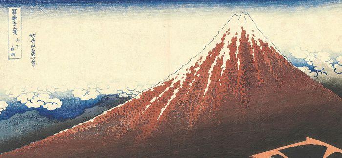 """在东京 看葛饰北斋""""通向富士山"""""""