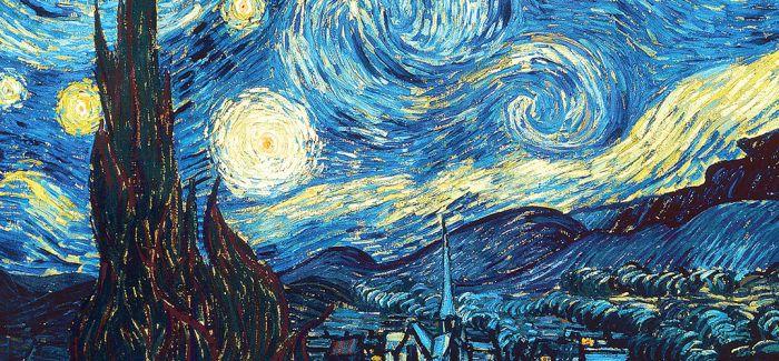 伦敦煤气灯启发了梵高《星夜》的创作?