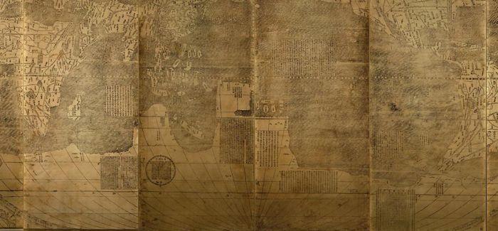 """去浙江美术馆看我国最早的""""世界地图"""""""