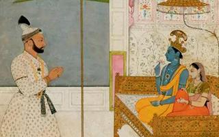 帕哈里笔下的印度宗教艺术