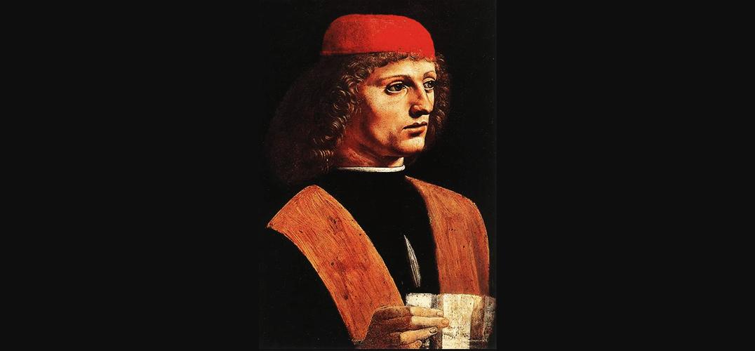 安布罗西亚纳画廊中达芬奇存世的唯一男性画像