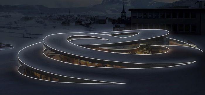 在平凡中寻找不平凡 米兰设计周上的优雅光曲线