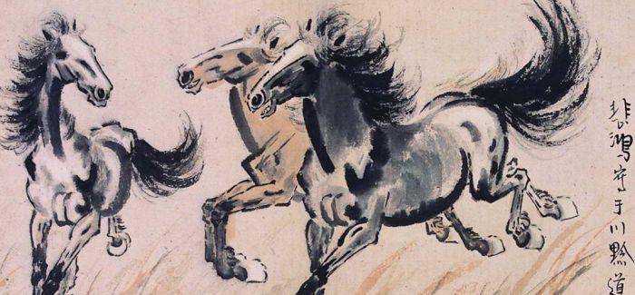 徐悲鸿南洋时期作品在长沙美仑美术馆开展