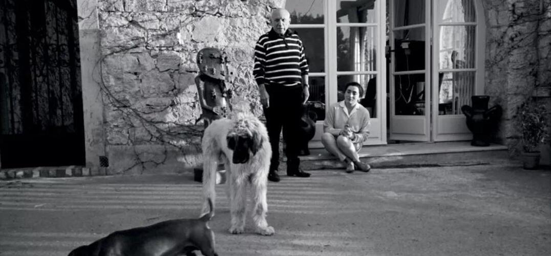 毕加索 《女子与狗》上拍纽约苏富比晚拍