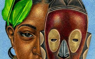 他以非洲文化为创作灵感