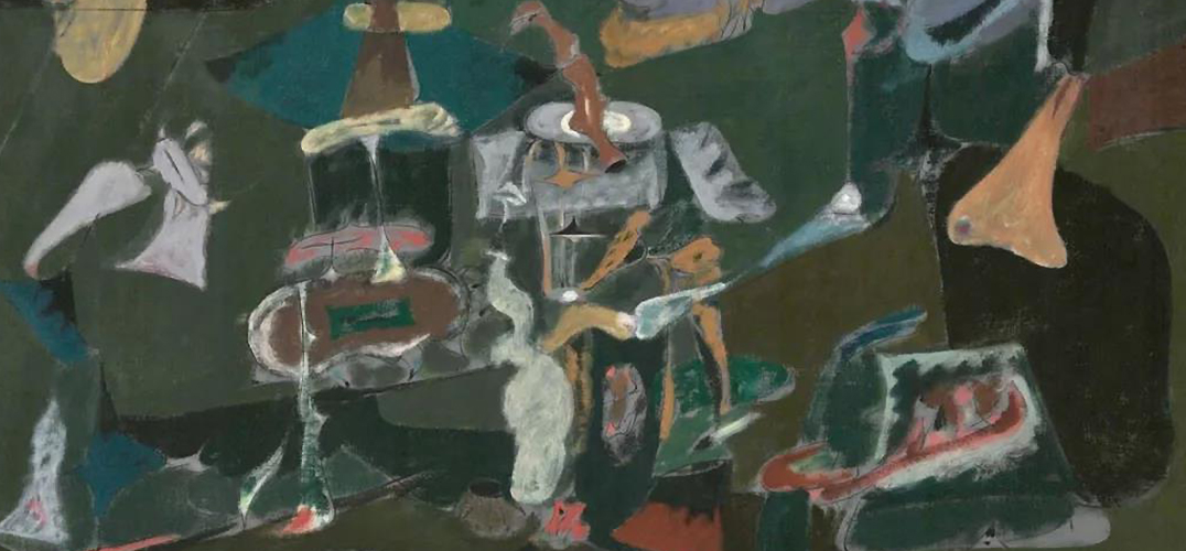 """在意大利品味阿希尔·戈尔基的""""抽象与现实"""""""