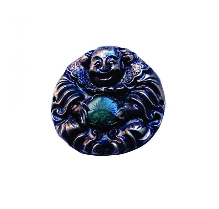 福从善来的银饰大阿福-瓷器拍卖