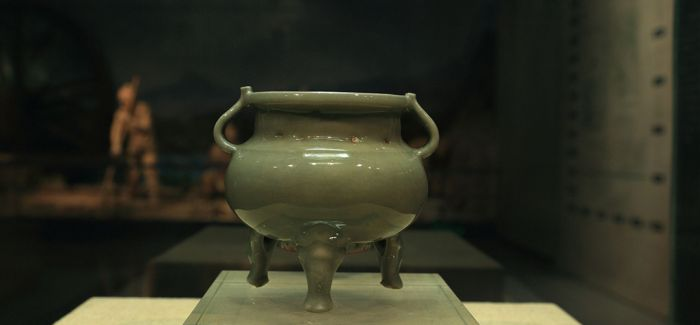 830件青瓷在故宫博物院展出