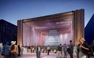 """迪拜世博会荷兰馆:创造""""闭环气候系统"""""""