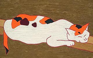 二十世纪及当代艺术晚拍呈献熊谷守一《椿》