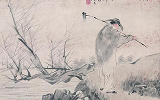 中国美术馆藏任伯年人物画在香港展出