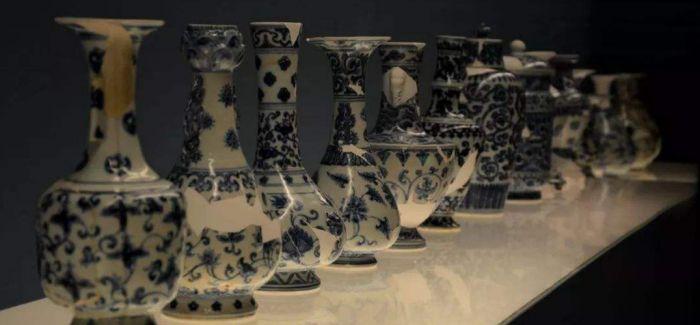 """285件/组""""空白期""""瓷器上海博物馆展出"""