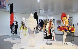 北京城市学院艺术设计学部毕业作品展开幕
