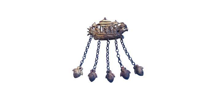 鎏金银饰中的端午习俗