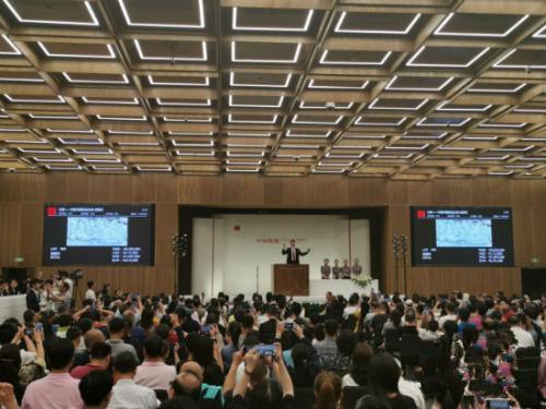 8年增值近3000万 吴冠中《狮子林》超1.4亿成交-古玩收藏