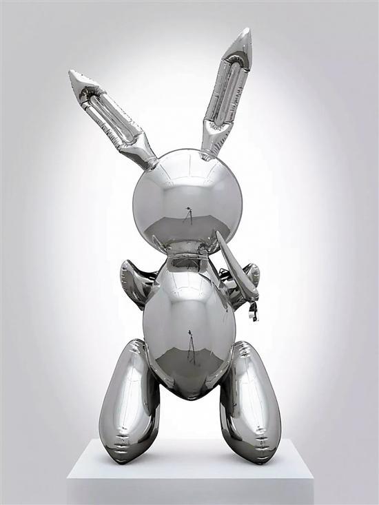 杰夫·昆斯的不锈钢《兔子》折合人民币6.62亿成交
