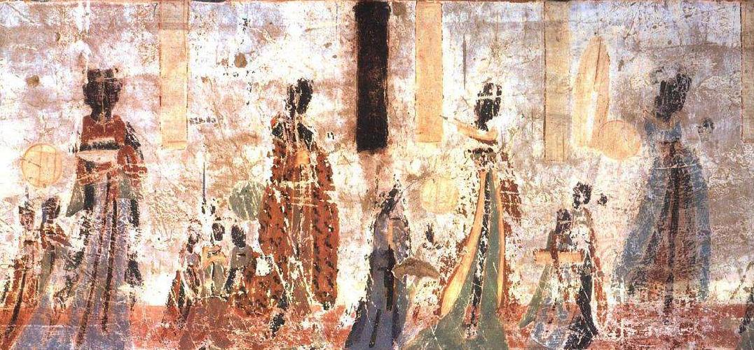 敦煌壁画中的服饰文化