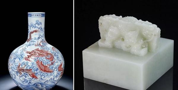 保利秋拍:雍正天球瓶以1.472亿元成交-天下收藏