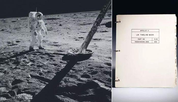 阿波罗11号登月舱航行记录册拍前北京艺廊预展-古亚博大小球