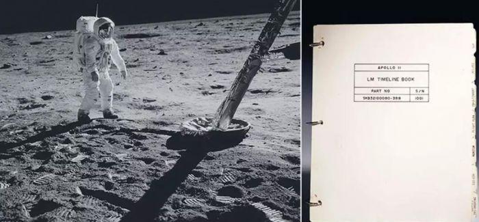 阿波罗11号登月舱航行记录册拍前北京艺廊预展