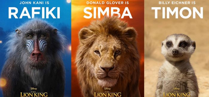 真人版《狮子王》7月台湾上映 海报吸睛