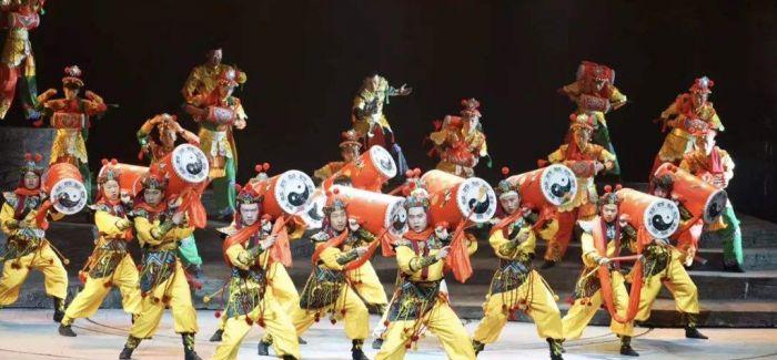 甘肃白银用原创情景歌舞剧演绎黄河小城千年历史变迁
