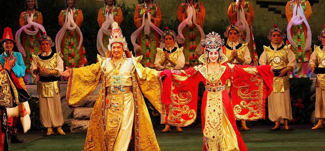 藏戏入选世界非遗十年 拉萨举行成果汇报演出