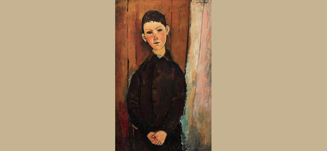 莫迪里阿尼肖像画将在伦敦苏富比拍出