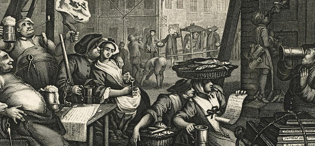 威廉·荷加斯笔下18世纪的伦敦