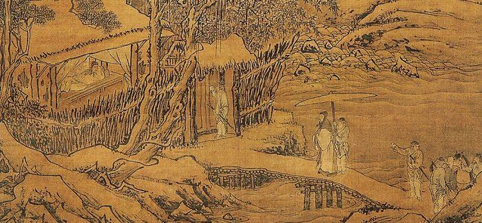 书画讲述袁安卧雪的故事