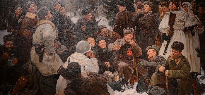 庆祝中俄建交70周年俄罗斯美术展启幕