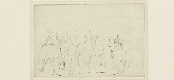 毕加索首批版画将于伦敦进行拍卖