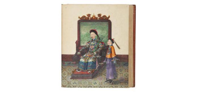 纽约古籍及手抄本网上专场推出晚清广州外销画