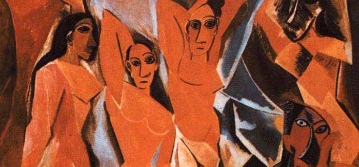 解读毕加索的《亚威农少女》