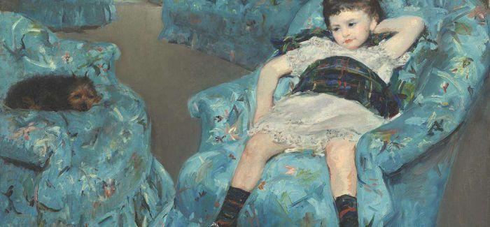 玛丽·卡萨特笔下的萌娃