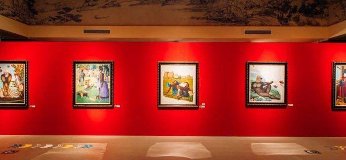 国家典籍博物馆展出安东尼·布朗162幅原画