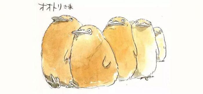 宫崎骏《千与千寻》手稿赏析