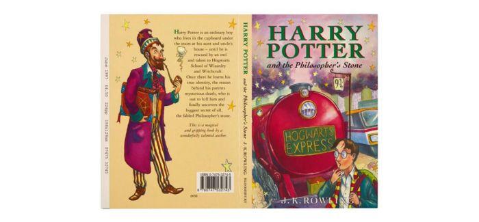 《哈利波特》初版(装订本)上拍苏富比
