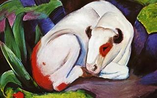 弗兰茨·马尔克的动物世界