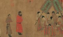 从《步辇图》锦袍到吐鲁番文明