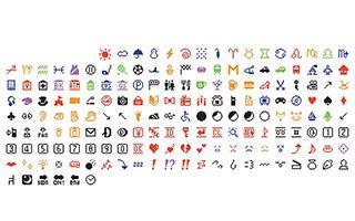 MoMA收藏1999年初代emoji表情