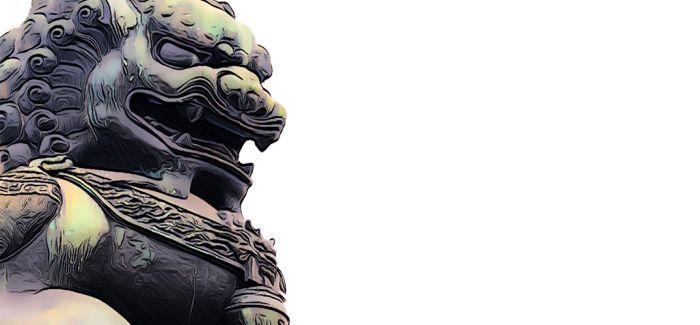 石狮子中的中国传统文化