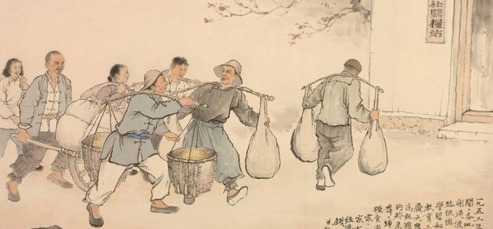 中国美术馆举办钱松喦诞辰120周年纪念展