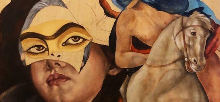 一场只有伊朗女性艺术家的展览