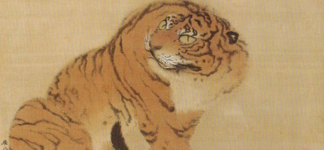 日本艺术中的动物之变