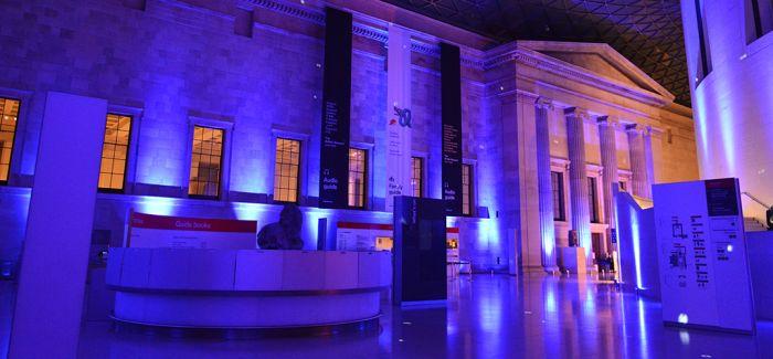 在大英博物馆中过一晚 啥感觉?