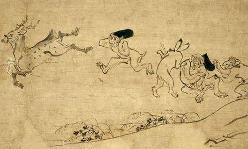 「日本艺术中的动物」