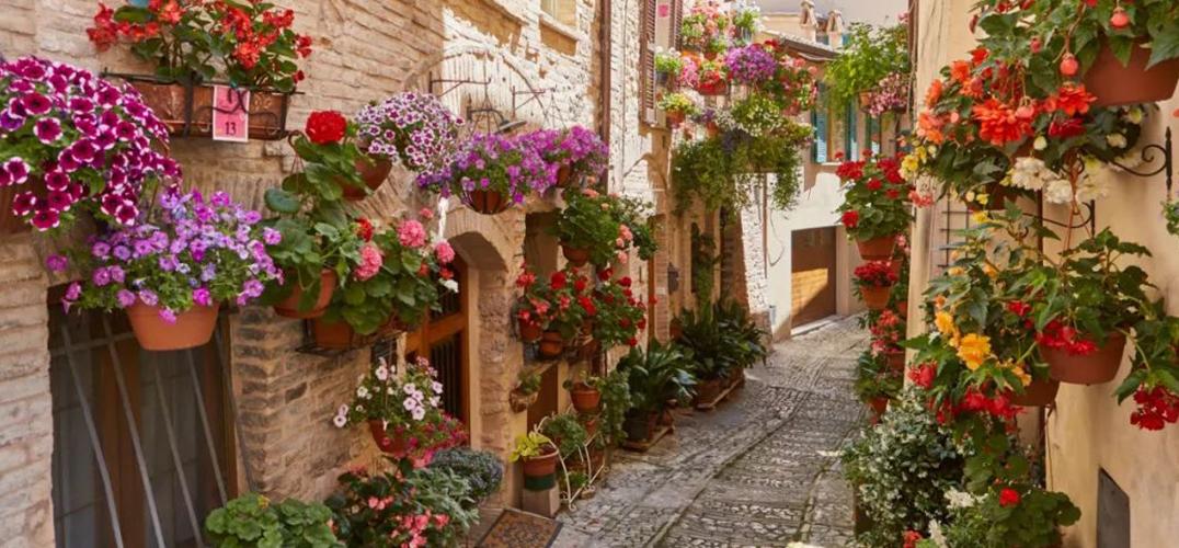 意大利的小镇风情