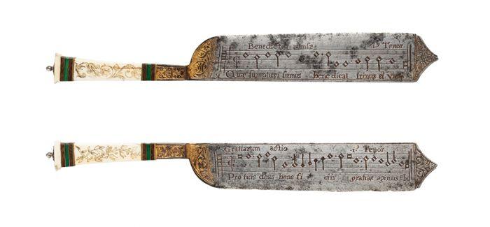 刀具or餐具?维多利亚和阿尔伯特博物馆里的乐谱刀